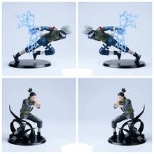 Naruto Action Figures Hatake Kakashi Nara Shikamaru Japanese Anime Figure Shippuden Movie PVC Toys 2pcs/set - Dracule Mihawk store