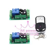 Домашней автоматизации 125 — 250 В 1CH рф ворота гаражной двери 2 приемниками и 1 передатчик система
