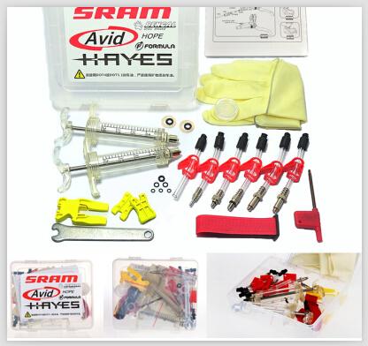 AVID Sram Brake Bleed Kit Tool Bicycle Hydraulic Disc Brake For DODE JUICY DOT HOPE BNGAL HAYES J3 J5 J7 Formula R1 RX K24 K18<br><br>Aliexpress