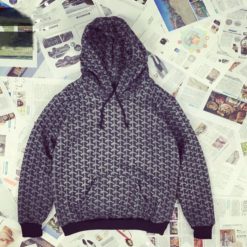 American Harajuku Punk Hoodie Men and Women Hedging Swag Pullover Hoody Hooded Coat Velvet Printing Hoodies Sport Wear