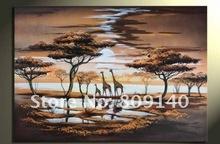 giraffe painting promotion