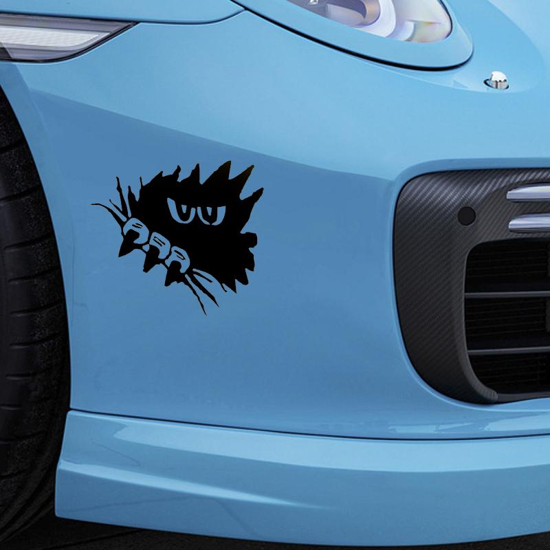 Horror Dark Eyes Gaze Sharp Claws Funny Car Sticker for Camper Van Door Motorcycle Laptop Kayak Waterproof Vinyl Decal 10 Colors(China (Mainland))