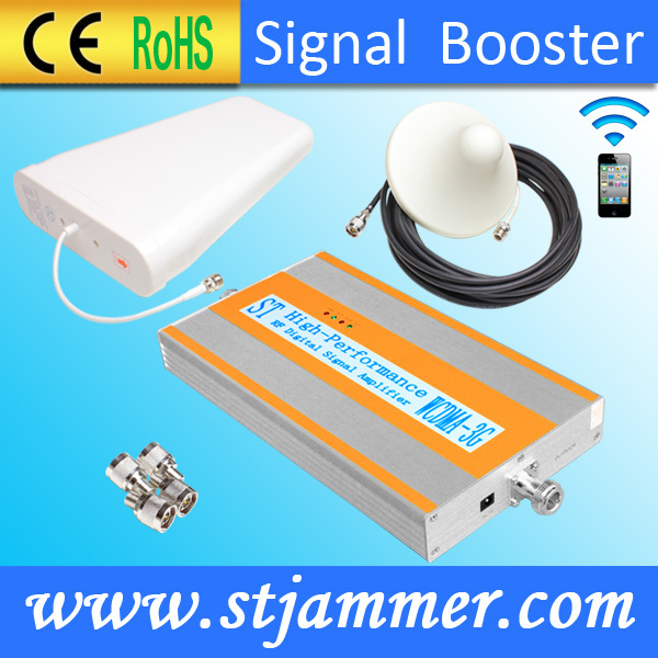 Car use UMTS 3G2100MHZ Mobile Phone Booster Coverage150sqm/Gain55dB/Output power15dBm(China (Mainland))