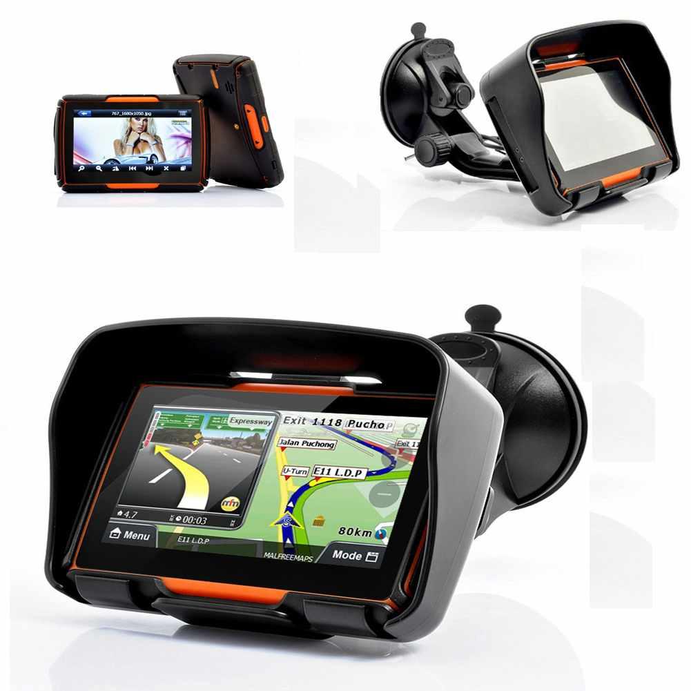 GPS навигатор для мотоцикла GPS Nav 4.3 8 gps навигатор 7 hd gps 800 nav bluetooth av fm