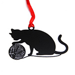 Lovely Cute Kawaii Metal Bookmark  Black Cat Book Holder for Book Paper Creative Gift Korean Stationery Free shipping 735(China (Mainland))