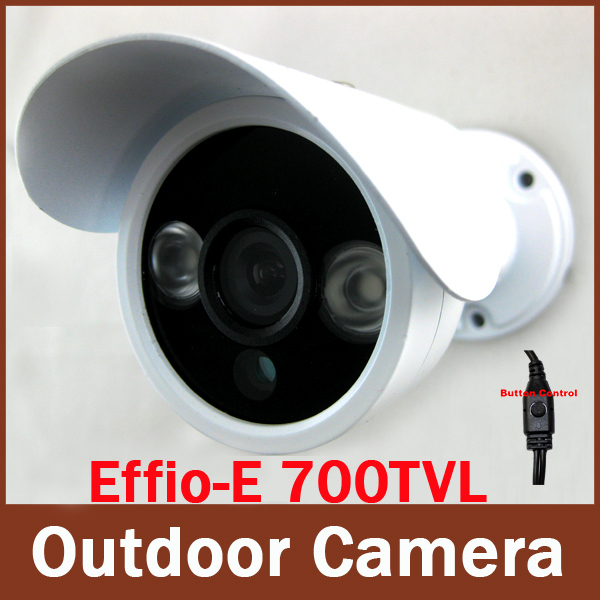 Sony Effio-E 700TVL  2pcs Aray IR Leds Waterproof  HD 960H Security Mini CCTV Bullet Camera Surveillance Camera with OSD Menu<br><br>Aliexpress