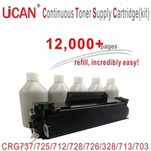 Buy UCAN CTSC, kit Compatible Canon CRG 712 912 725 925 737 337 728 328 726 326 713 313 703 303 103 FX10 FX9 Toner Cartridges for $66.99 in AliExpress store