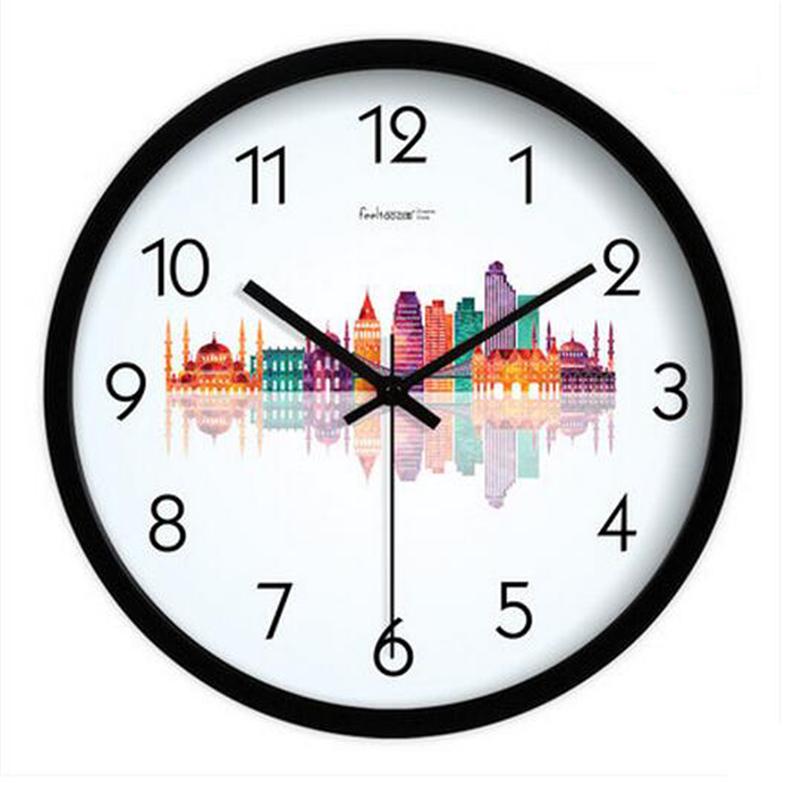 En fer forg horloges grand promotion achetez des en fer for Grande horloge murale fer forge