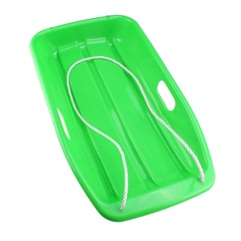 JHO-Plastic snow Sled for Child, 35-Inch, Green(China (Mainland))