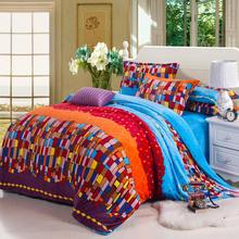 Bed Sheet Bed Set Warm Winter Taobao Mall Explosion Models Golden Eagle Plush Four Piece Blanket Special Wholesale Manufacturers(China (Mainland))