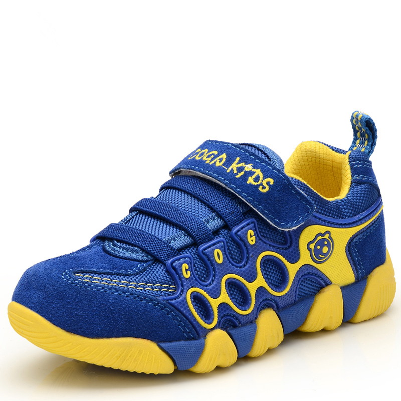 Waterproof Leather Children Shoes 2015 Spring Summer Breathable Boys Girls Sport Sneakers Child Casual Shoes Kids Trainers(China (Mainland))