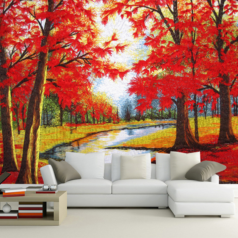 Wallpaper natural beauty promotion shop for promotional for Beautiful wall mural