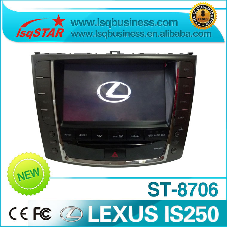 LSQ Star car stereo gps navigation for Lexus Is250(2008-2011) With  DVD Radio Bluetooth Gps Touch Screen Mp3 Mp4,St-8706<br>