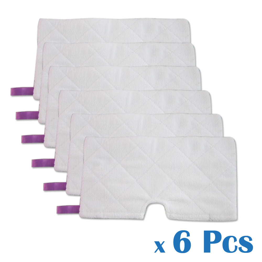 6 Pcs Hardwood Ceramic Stone Floor Washable Replacement Standard Microfiber Pad For Shark Pocket Steam Mop S3501 S3601 S3901(China (Mainland))