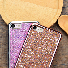 Buy iPhone 6S case Rhinestone Clear Crystal Bling Glitter Phone case iPhone 5s SE 6 Plus 6Plus iPhone 7 Plus Cover for $1.47 in AliExpress store