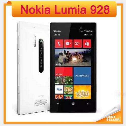 928 Lumia Unlocked Original Windows Phone 4.5'' Dual Core 1.5GHz 32GB 3G Nokia Lumia 928 cell phone(China (Mainland))