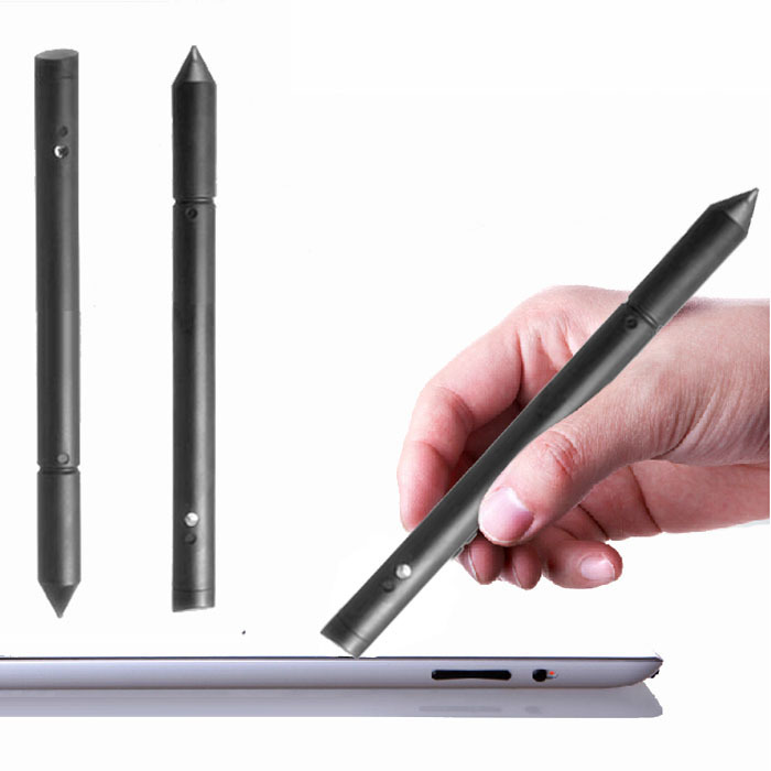 2016 New Hot Sale 2in1 Universal Touch Screen Pen Stylus For iPhone 4/5GS/6/6/Plus For iPad Tablet PC SmartPhone Wholesale