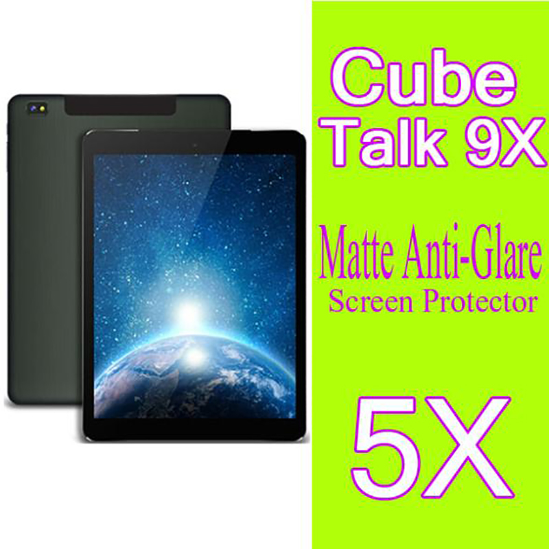 Anti-glare Matte Screen Protector For Cube U65GT Talk 9X Tablet PC Protective Film 9.7 Inch For Cube Talk 9X Matte Screen Film(China (Mainland))