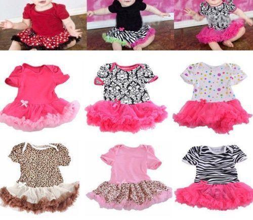 Платья 0 - 12 м прекрасный малыш девушки оборками платье ползунки цельный наряд одежда + повязка на голову бесплатная доставка