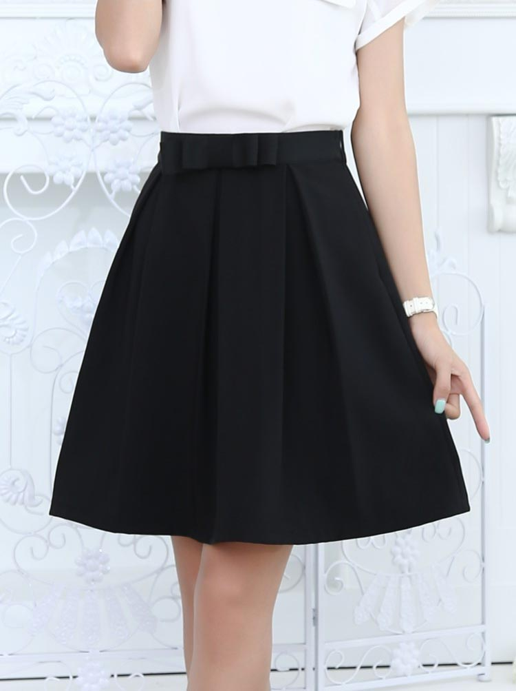 2015 Women s Summer Fashion Sexy Bow Pleated Mini Skirts summer style