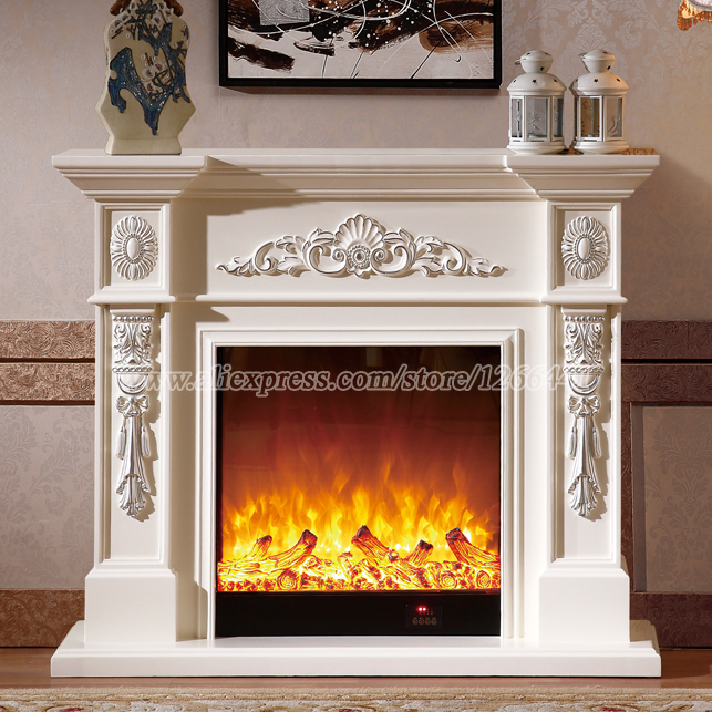 Online buy wholesale fireplace mantels from china for Cheap wooden fireplace surrounds