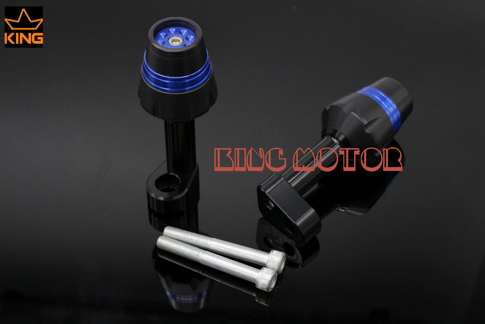 New! For YAMAHA YZF R25 YZF R3 Motorcycle Accessories Frame Sliders Crash Protector Falling Protection Blue<br><br>Aliexpress