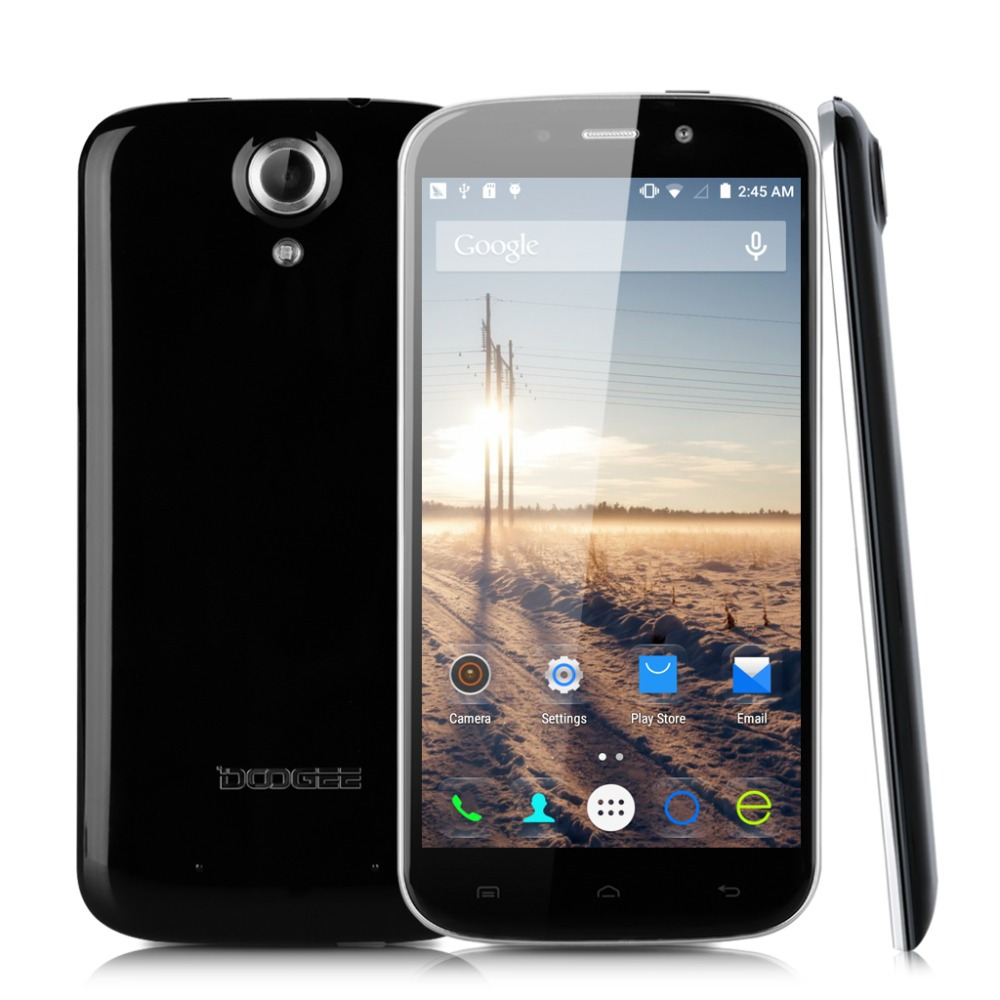 "Original Doogee NOVA Y100X Android 5.0 Mobile Cell Phone MTK6582 Quad Core 5.0"" OGS 1280X720 1GB RAM 8GB ROM 8.0MP Dual Sim(China (Mainland))"