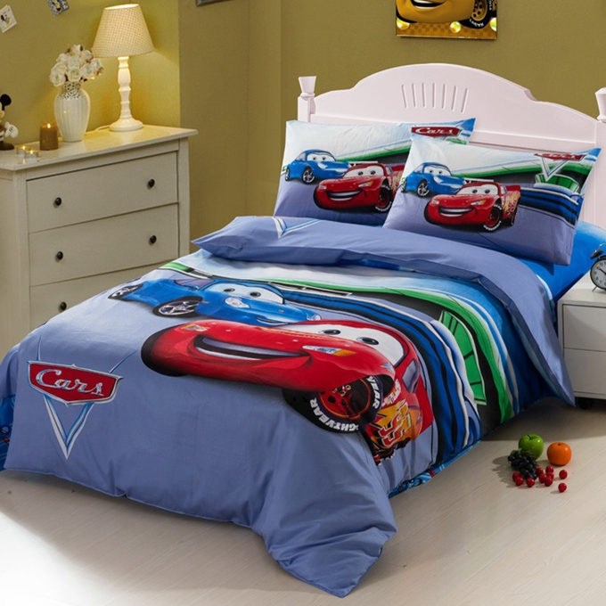 Race Car Beds For Toddlers Race Car Kids Boys Bedding