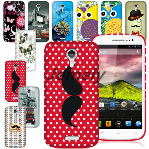 Hot Selling!!! For Explay x-tremer Printed Case TPU Gel Protection Back Cover+Screen Film+Stylus(China (Mainland))