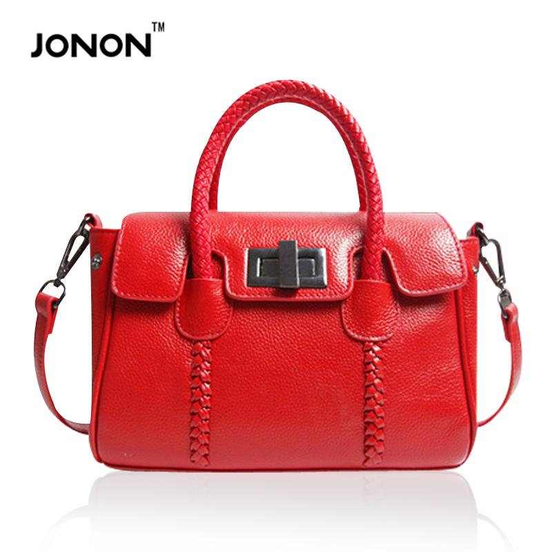 Jonon Brand Women Leather Handbags Famous Brands High Quality Crossbody Bags for Women Woman Shoulder Bag Tote Bolsa Feminine<br><br>Aliexpress