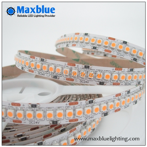 free shipping 5m reel 24v 3528 smd 240leds per meter led strip ribbon lights single row<br><br>Aliexpress