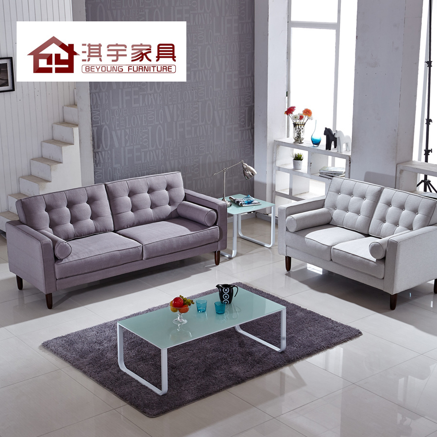 modern living room sofa fabric sofa minimalist apartment