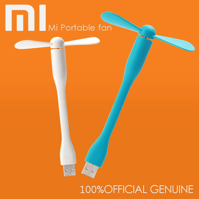 Original Xiaomi Fan Portable Mini USB Fan popular portable remove and Low power consumption of Mini USB for Notebook PC Computer(China (Mainland))