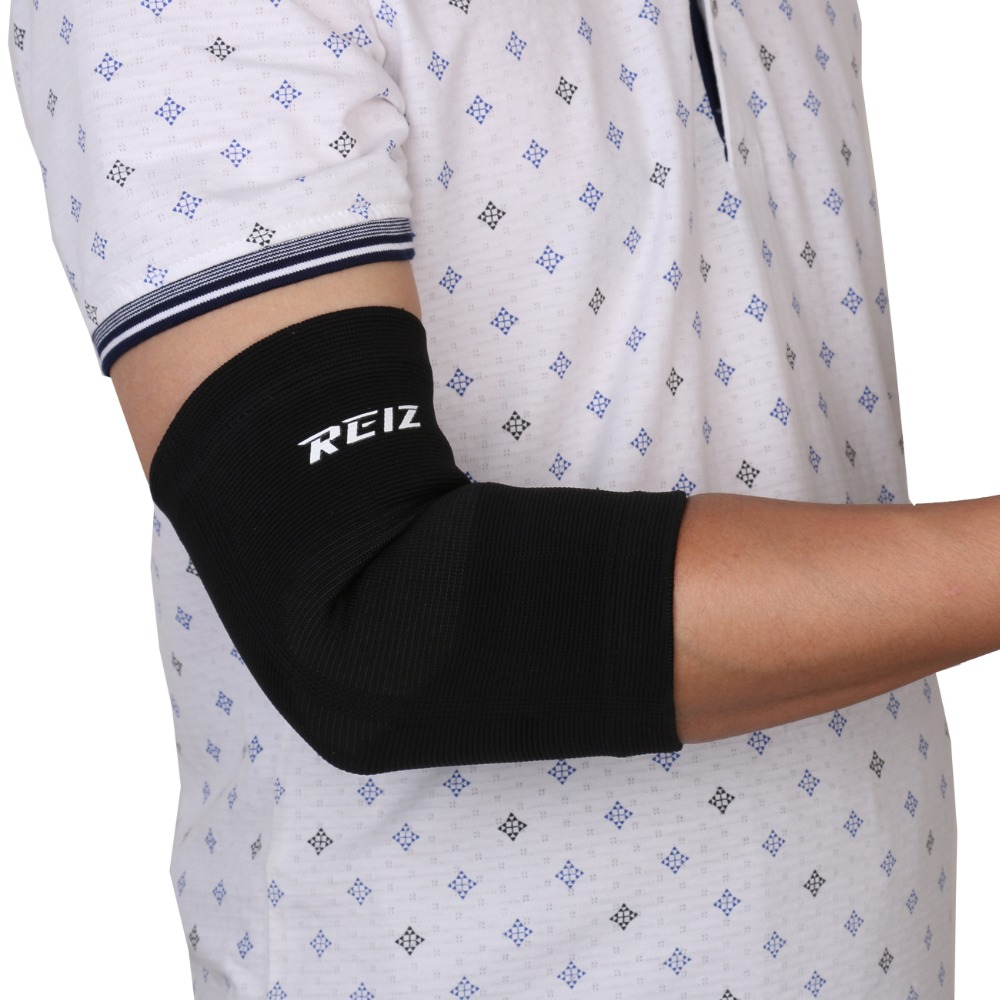 Lengthen Absorb Sweat ELBOW Support Brace Elbow Pads Sport Safety - Black(China (Mainland))