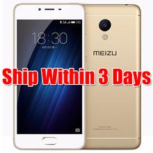 "Original Meizu M3S Mini 2.5D Glass MT6750 Octa Core 5.0"" 2GB/3GB RAM 16GB/32GB ROM 13MP 3020mAh 4G LTE Fingerprint Mobile Phone(China (Mainland))"