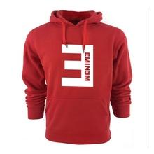 Hoodies men 2016 New Winter Men's Hoodies Eminem Printed Thicken Pullover Sweatshirt Men Sportswear Fashion Clothing(China (Mainland))