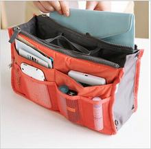 2014 Hot 13 Colors Make up organizer bag Women Men Casual travel bag multi functional Cosmetic Bag storage bag in bag Handbag()
