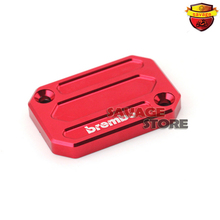 YAMAHA MT 125 MT-125 2014-2015 Red Motorcycle Front Brake Reservoir Cover Cap - Blazing angels store