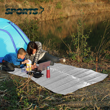 New Fashion Outdoor Mat Pads Aluminum Film Mats Double Side Camping Dampproof Camping Pad Picnic Blanket Waterproof(China (Mainland))