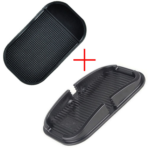 New Car Super Sticky Pad Anti Slip Mat Set for iPhone 4S 5S 6 Plus Samsung Galaxy S4 S5 Note 3 4 Xiaomi Car Accessory free ship(China (Mainland))
