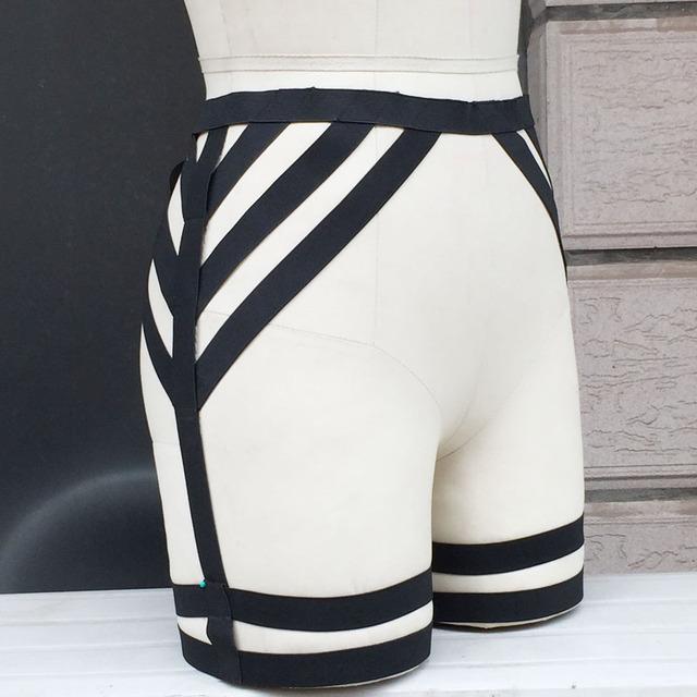 Женщина сексуальная подвязки ног подвязки ручной синта лига сексуальная проводов ...