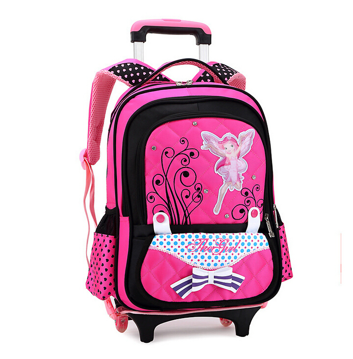 Cute children school bags girls backpacks trolley cartable cartoon schoolbag kids backpack detachable &88298 - Top Selling Best Store store