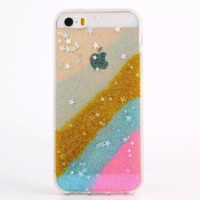 2015 New fashion MISS Gossip Chiara sequins following Ferragni blinking case iphone5 5s 6 Plus - Canica store