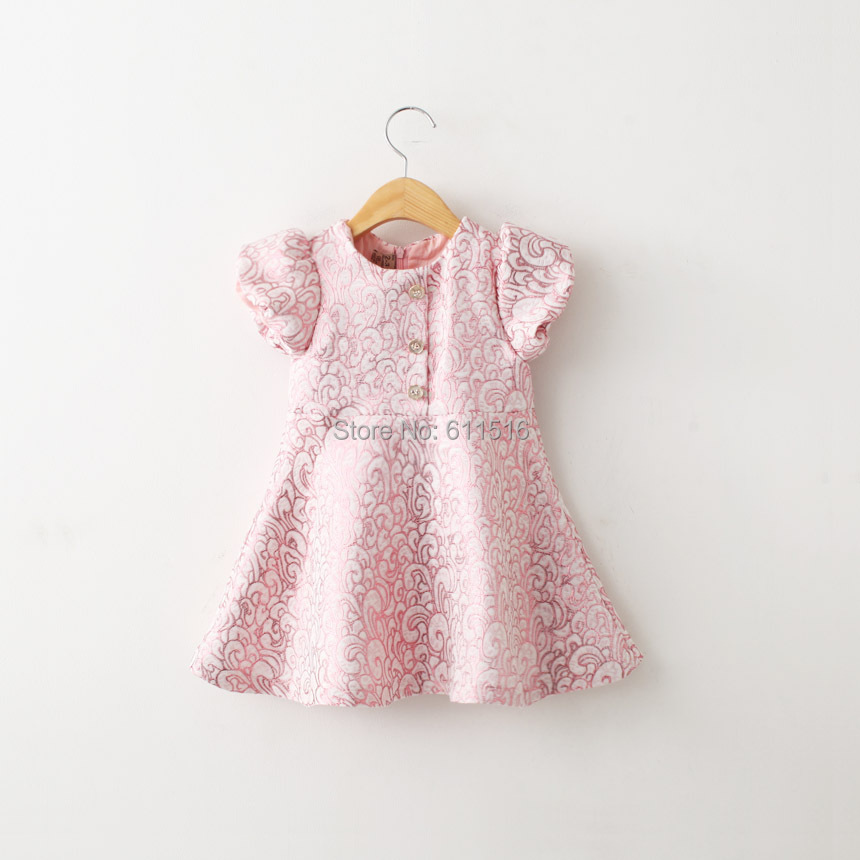 2 Colors Free Shipping 5 Pieces/lot 2-8 Years Girl Top quality Spring Dress 2 Layers Fashion Dress<br>