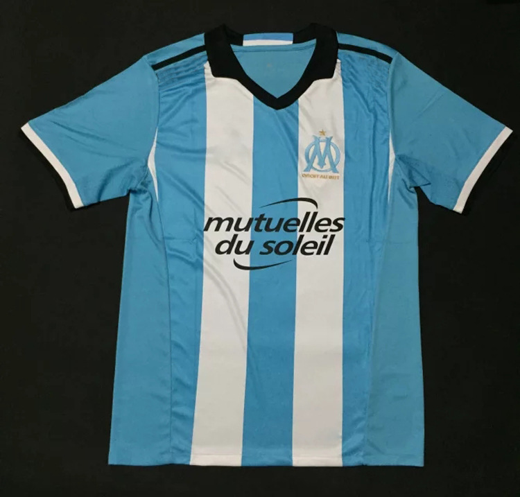 2016-17 New Arrival Marseille Jersey Number 9 Virginia Ayoob Football Clothing(China (Mainland))