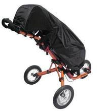 Black Waterproof Clubbers Universal Golf Trolley/Cart Bag Rain Cover New(China (Mainland))