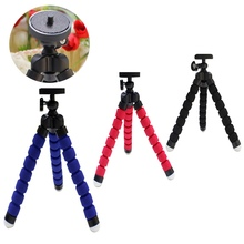 GoPro Accessories Mini Flexible Camera Tripod Octopus Bubble Tripod For SJ4000 Camera Go Pro Hero3+ 3 4 For Other Cameras