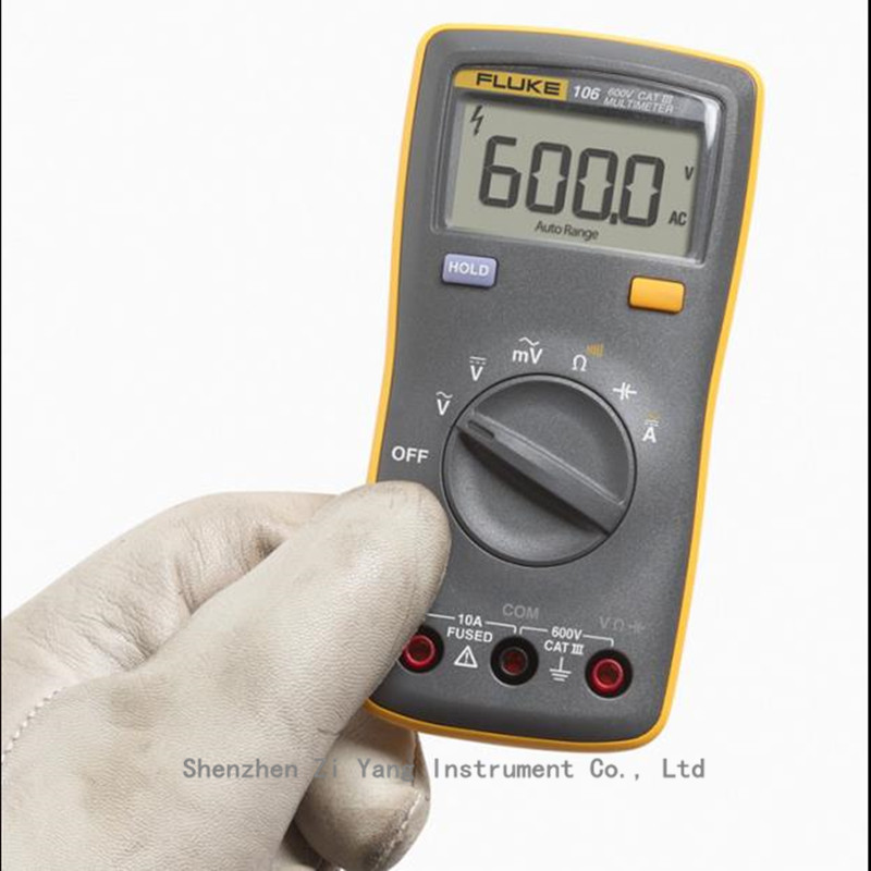 100% Original NEW FLUKE 106 F106 Palm-sized Digital Multimeter Meter Pocket Gauge<br><br>Aliexpress