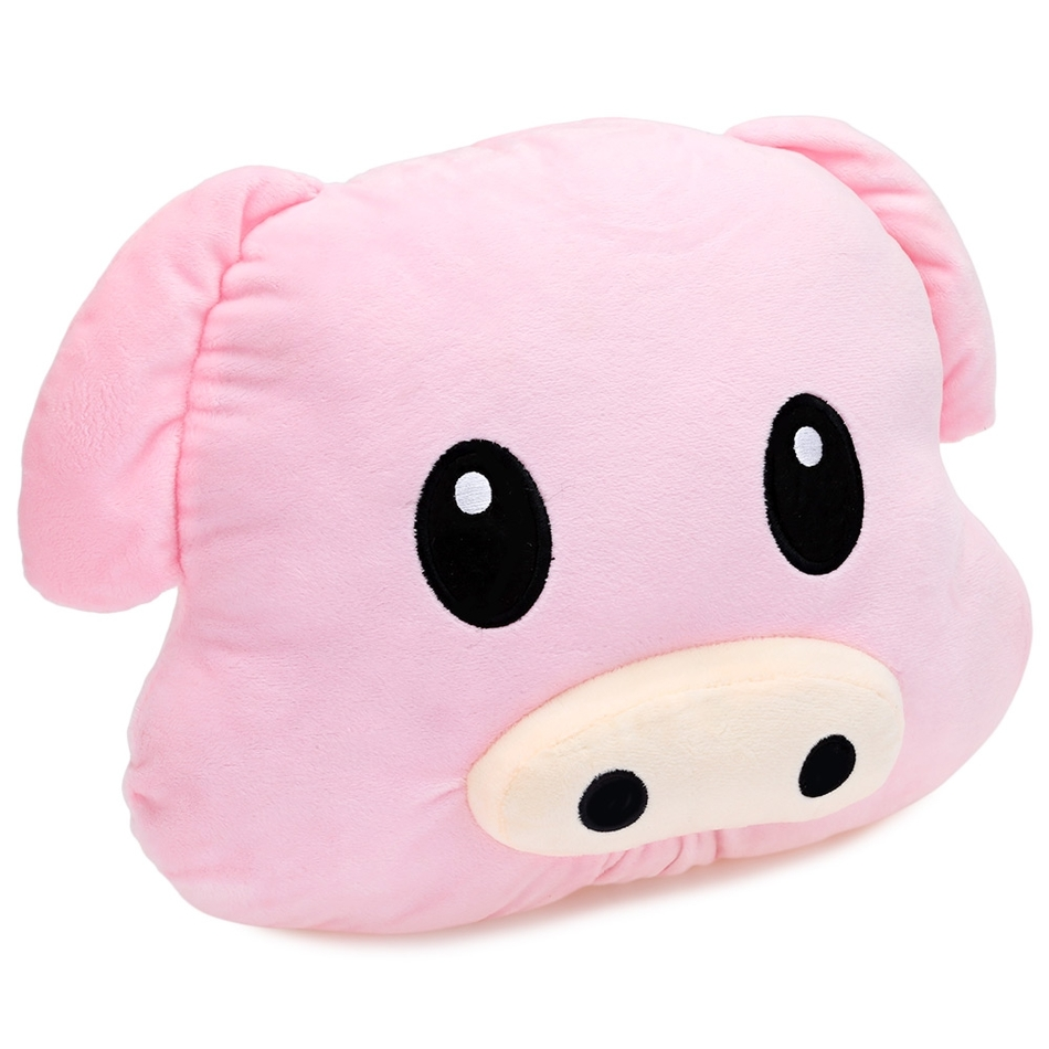 High-quality Soft Cute PP Cotton Animal Stuffed Emoticon Plush Pillow Pig Shape Toy Children Best Gift Bedding Doll(China (Mainland))