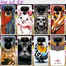 Buy Hard Plastic&Soft TPU Silicones Phone Cover LG G5 F700 H830 H850 VS987 H820 LS992 G5 SE H840 Lite Cases Cool Skull Hood for $1.66 in AliExpress store